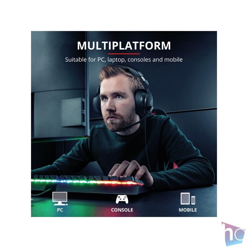 Trust GXT 433 Pylo gamer fejhallgató headset