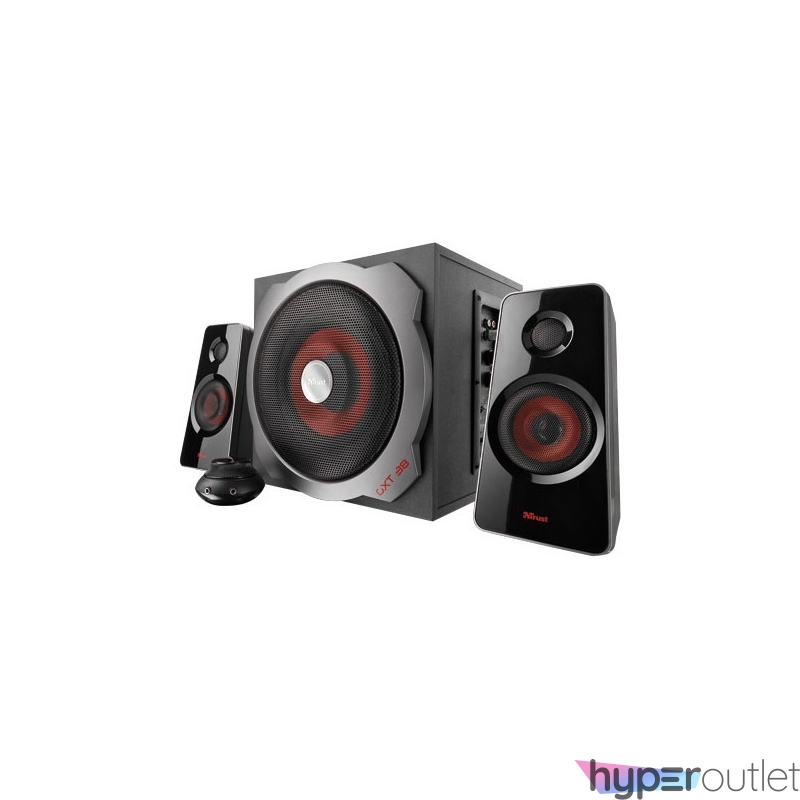Trust GXT 38 Tytan 2.1 Ultimate Bass jack 60W fa gamer hangszóró