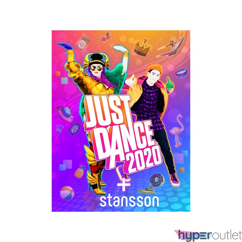 Just Dance 2020 PS4 játékszoftver + Stansson BSC375G arany Bluetooth speaker csomag